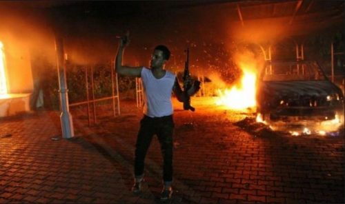 Clinton let Bengazi Consulate Burn
