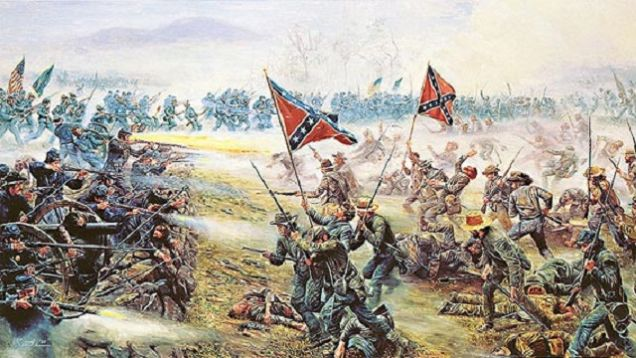 confederate-battle-flag-flown-in-battle-of-gettysburg