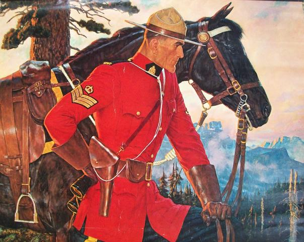 Canadian Mountie by Arnold Friberg